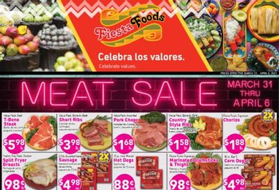 Fiesta Foods SuperMarkets Weekly Ad Flyer March 31 to April 6