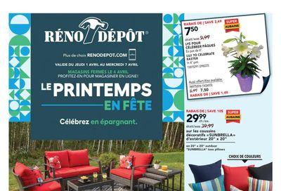 Reno Depot Flyer April 1 to 7