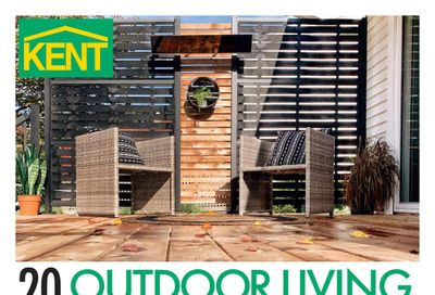 Kent Building Supplies Outdoor Living Flyer April 1 to 14