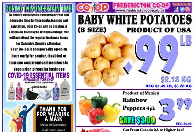 Fredericton Co-op Flyer April 1 to 7