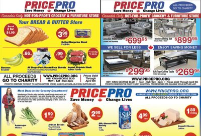 Price Pro Flyer March 31 to April 6