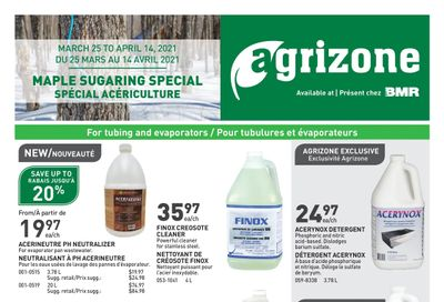 BMR Agrizone Flyer March 25 to April 14