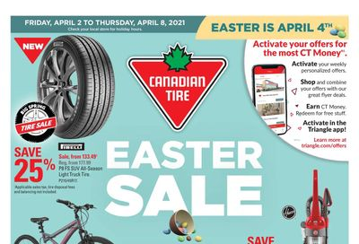 Canadian Tire (West) Flyer April 2 to 8