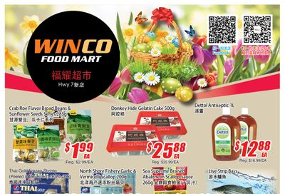 WinCo Food Mart (HWY 7) Flyer April 1 to 7