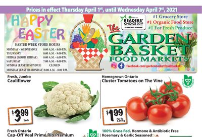 The Garden Basket Flyer April 1 to 7