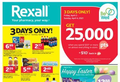 Rexall (West) Flyer April 2 to 8