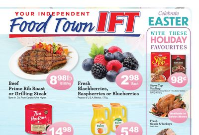 IFT Independent Food Town Flyer April 2 to 8