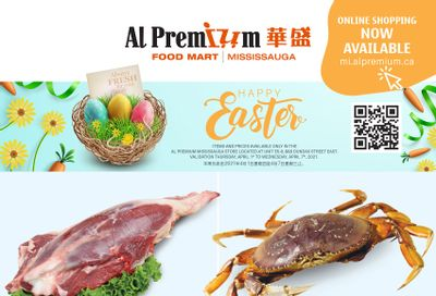 Al Premium Food Mart (Mississauga) Flyer April 1 to 7