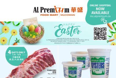Al Premium Food Mart (McCowan) Flyer April 1 to 7