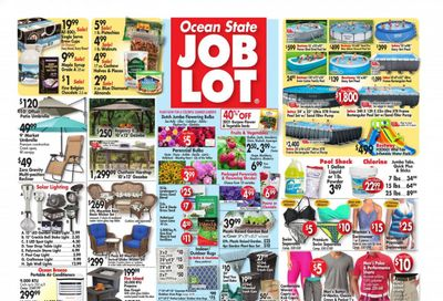 Ocean State Job Lot Weekly Ad Flyer April 1 to April 7