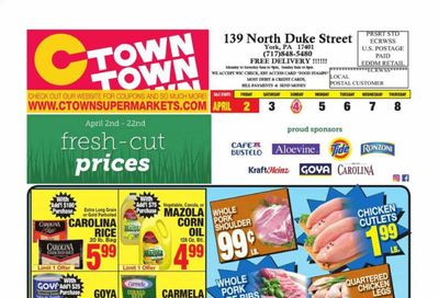 C-Town Weekly Ad Flyer April 2 to April 8