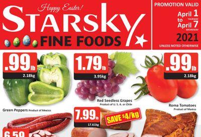 Starsky Foods Flyer April 1 to 7