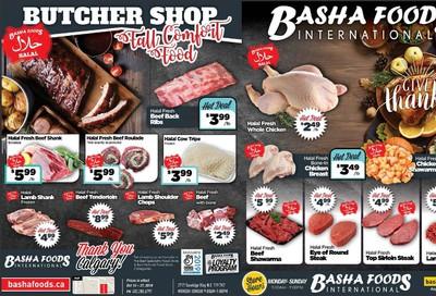 Basha Foods International Flyer October 14 to 27