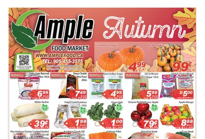 Ample Food Market Flyer October 18 to 24