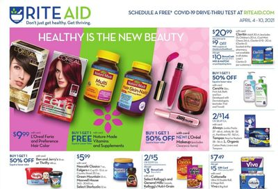 RITE AID Weekly Ad Flyer April 4 to April 10