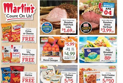 Martin's Weekly Ad Flyer April 4 to April 10