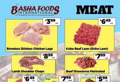 Basha Foods International Flyer April 2 to 15