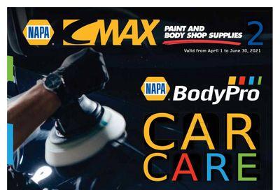 NAPA Auto Parts CMAX Catalog April 1 to June 30