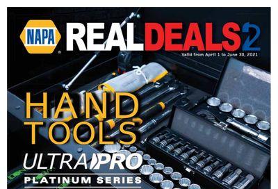 NAPA Auto Parts Real Deals Catalogue April 1 to June 30