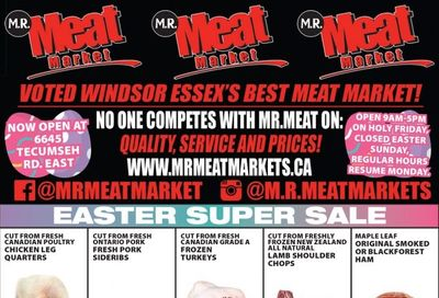 M.R. Meat Market Flyer April 3 to 10