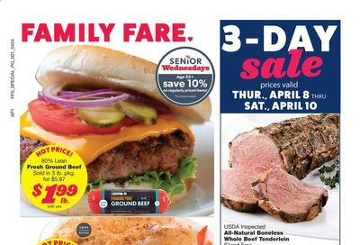 Family Fare Weekly Ad Flyer April 4 to April 10