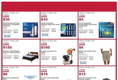 Costco (ON, NB, NL & NS) Weekly Savings April 5 to May 2