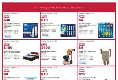 Costco (QC) Weekly Savings April 5 to May 2