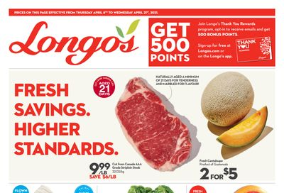 Longo's Flyer April 8 to 21
