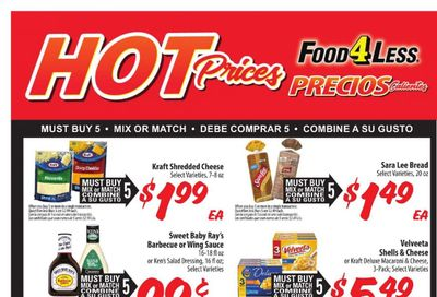 Food 4 Less (IL) Weekly Ad Flyer April 7 to April 13