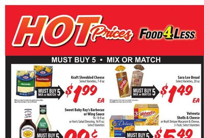 Food 4 Less (IN) Weekly Ad Flyer April 7 to April 13