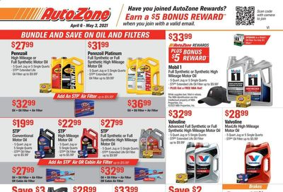 Autozone Weekly Ad Flyer April 6 to May 3