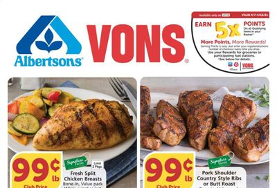 Albertsons Weekly Ad Flyer April 7 to April 13