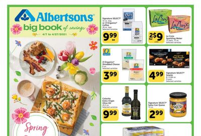 Albertsons Weekly Ad Flyer April 7 to April 27