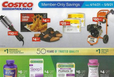 Costco Weekly Ad Flyer April 14 to May 9