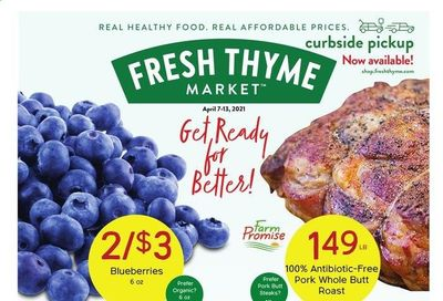 Fresh Thyme Weekly Ad Flyer April 7 to April 13