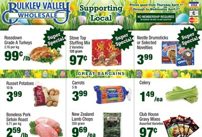 Bulkley Valley Wholesale Flyer April 1 to 7