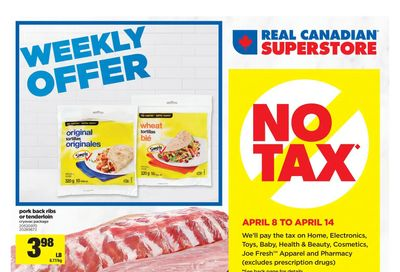 Real Canadian Superstore (ON) Flyer April 8 to 14