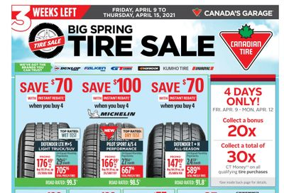 Canadian Tire (ON) Flyer April 9 to 15