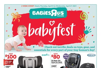 Babies R Us Flyer April 8 to 21