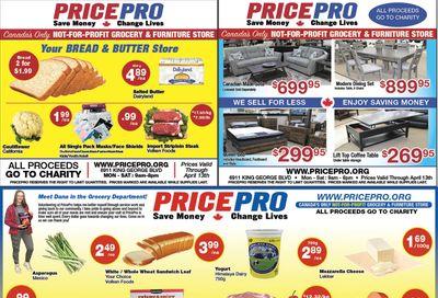 Price Pro Flyer April 7 to 13