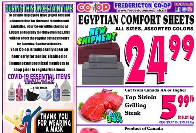 Fredericton Co-op Flyer April 8 to 14