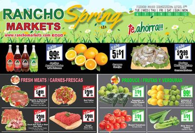 Rancho Markets Weekly Ad Flyer April 6 to April 12
