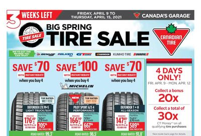 Canadian Tire (Atlantic) Flyer April 9 to 15