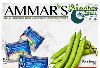 Ammar's Halal Meats Flyer April 8 to 14
