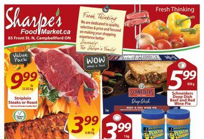 Sharpe's Food Market Flyer April 8 to 14