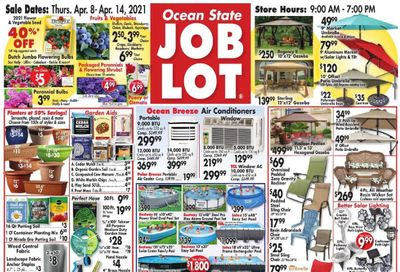 Ocean State Job Lot Weekly Ad Flyer April 8 to April 14