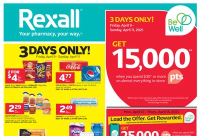 Rexall (West) Flyer April 9 to 15
