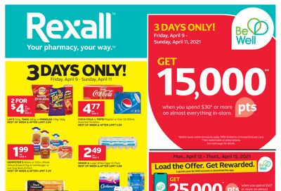 Rexall (ON) Flyer April 9 to 15