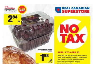 Real Canadian Superstore (West) Flyer April 9 to 15