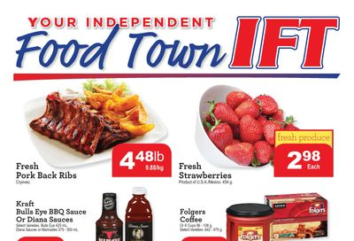 IFT Independent Food Town Flyer April 9 to 15